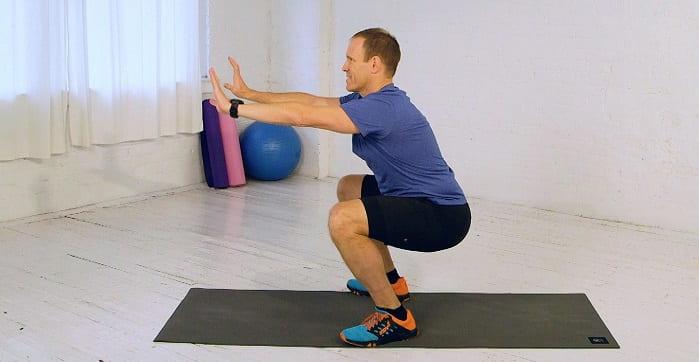 تقویت زانو برای درمان پای پرانتزی