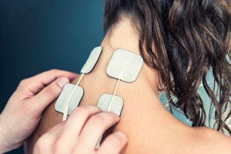 تحریک الکتریکی برای درمانرگ به رگ شدن گردن
