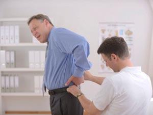 تشخیص درد دنبالچه