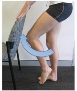 حرکت لیفت پا به جلو پس از تعویض مفصل زانو