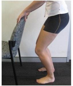 خم کردن عضله چهار سر ران پس از تعویض مفصل زانو