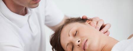 درمان دستی برای درمانرگ به رگ شدن گردن