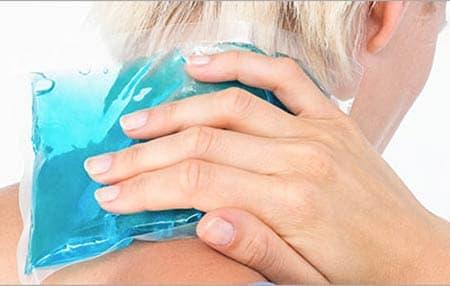 سرما درمانی برای درمانرگ به رگ شدن گردن