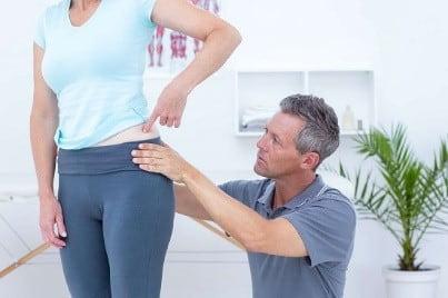فیزیوتراپی برای درمان دررفتگی لگن