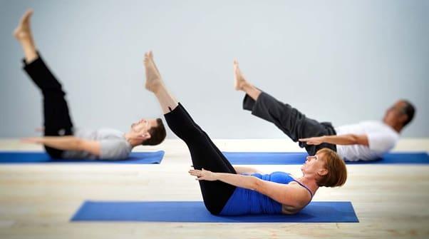 حرکت پیلاتس برای درمان پای پرانتزی