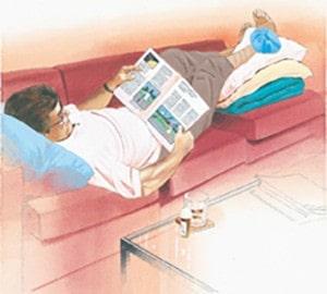 درمان پیچ خوردگی مچ پا با استراجت