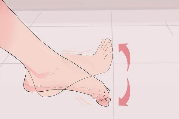 درمان درد شست پا با تمرین کشش انگشتان