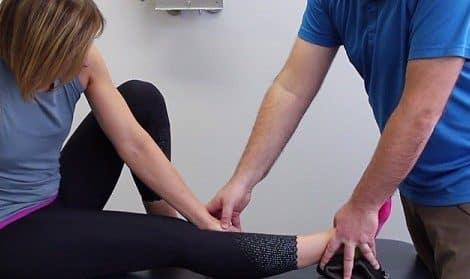 فیزیوتراپی برای درمان خار پاشنه