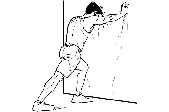 کشیدن عضله ساق پا