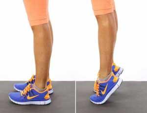 بلند کردن ساق پا